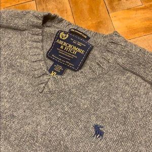 Men's A&F V Neck Sweater
